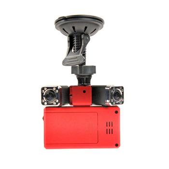 Dual Camera X5000 DVR Car Vehicle Camera with HD 1080P 140 Degrees Car Black Box DVR Recorder support IR Night Vision PC Camera