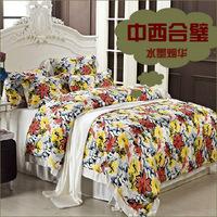 Silk kit double faced mulberry silk piece set silk bedding