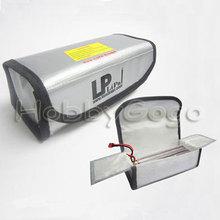 LI-PO Safe Bag -Grey 185*75*60MM for lipo batter