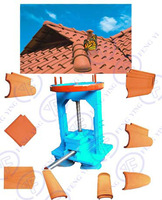 good for small business manual roof tile making machine