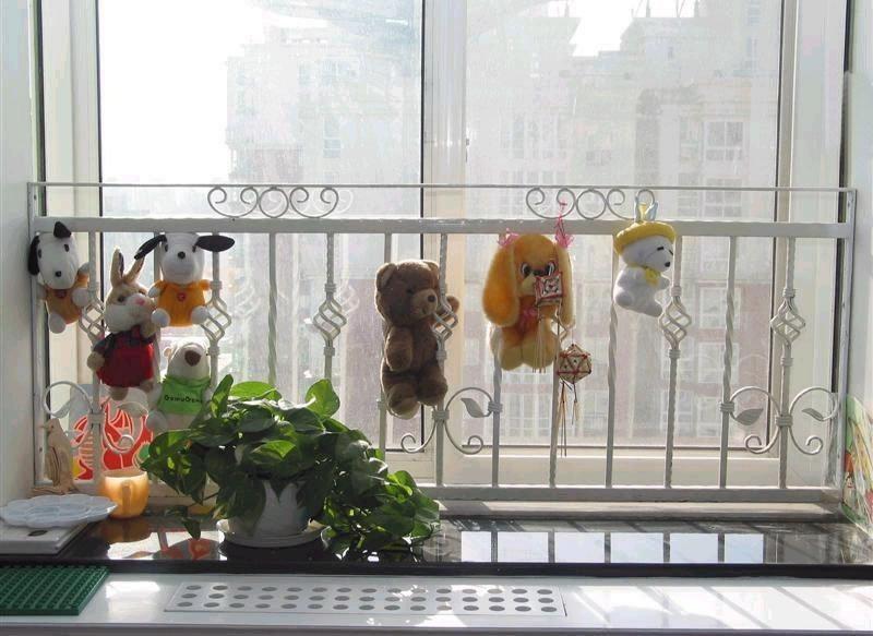 Ferro forjado cerca guardrail piaochuang grade braço fashion decoração da janela branco rústico indoor indoor(China (Mainland))