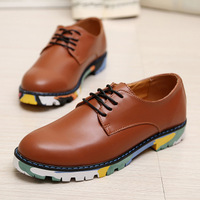 2013 autumn new style Men Genuine Leather Shoes Leather men's shoes New Shoes US SZE 6.5-10