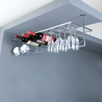 Stainless steel wine rack hanging wine holder