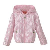 Freeshipping new winter autumn children kids girl pink khaki jacket hoody coat outwear PEDS13P34