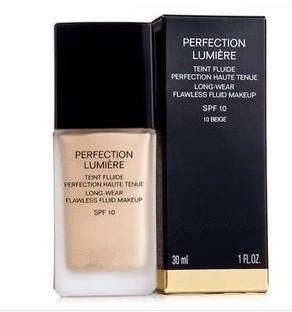 1 piezas de envío gratis, la marca de maquillaje profesional base maquillaje líquido fundación de base 30ml, color 1