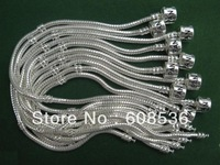 Hot!Free Shipping wholesale 925 Sterling Silver jewelry charms bracelet silver bracelet. crystal beads bracelet  p002