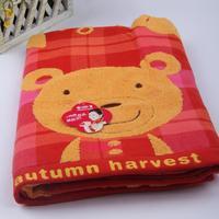 Bear double layer jacquard bath towel 380 8012a