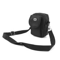 Male strap waist pack vertical mini bag messenger bag thick oxford fabric bag