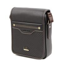 Male fashion casual bag vertical section clad cover type messenger bag shoulder bag small bag commercial