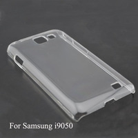 Wholesale Price for Mobile Phone Transparent Case for SAMSUNG I9050 with Black/White/Crystal color for DIY