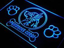 ADV PRO j970-b Pembroke Corgi Dog Pet Shop Neon Light Sign(China (Mainland))