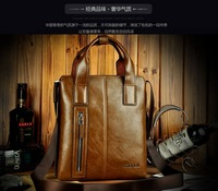 Hot New product! 2013 European and American fashion male horizontal handbag commercial  briefcase messenger bag man bag