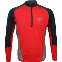 Hot Selling 2013 New Arrival Long Sleeve  Compression Sports/Cycling Jersey/Made From High Quality Lycra/Some Sizes