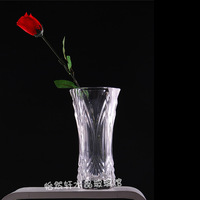 Large transparent crystal glass vase French fashion vase luckybamboo hydroponics vase