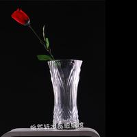 Large transparent crystal glass vase French fashion vase luckybamboo hydroponics vase