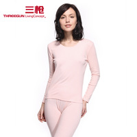 Bsa thermal padded o-neck long-sleeve female long johns underwear set long johns 21846 d1