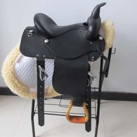 Western Horse Riding Saddle Horsemanship Kindredship quality full leather saddleries supplies sa125