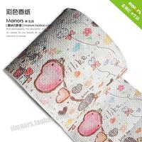Prontpage personality multicolour print toilet paper weazands heart balloon 07