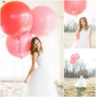 Birthday balloon bundle 36 big balloon blastoff balloon circle balloon decoration