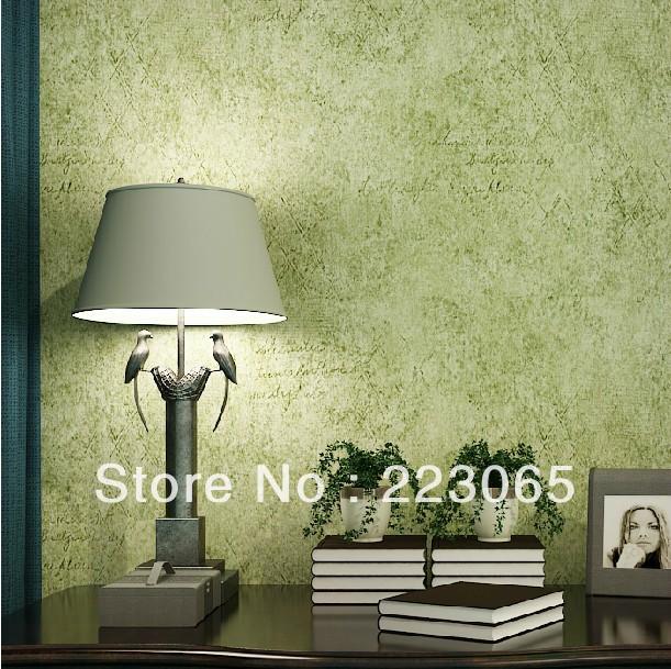 Green Living Room Wallpaper
