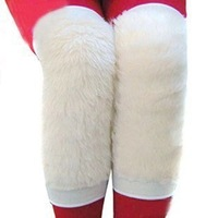 At home artificial wool kneepad wool kneepad thermal products 0.11kg