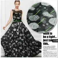 printed  silk chiffon  fabric 100% nature silk fabric  8m/m