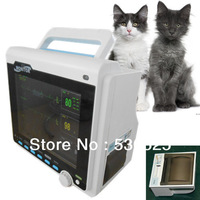 *Buil-in Printer* CE Approved CMS6000 Veterinary 3 Multi-Parameter ICU Patient Monitor, VET Vital Signs Monitor,ECG+NIBP+SPO2