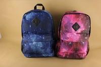new 2014 Harajuku amo lovers neon double-shoulder zipper school bag skateboard galaxy bag