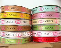 free shipping mixed 24 yards/lot 7/8'' 22mm printed ribbon Satin ribbon gift package garment hairbow accessory