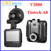 "Car DVR V2000 2.5"" Novatek H.264 Car Camera 1920X1080P 30FPS Night Vision G-sensor Car Black Box SOS Black Box Video Recorder"