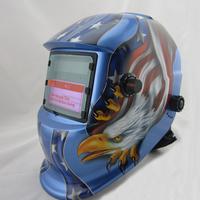 DIN7-DIN12 shading area solar auto darkening  welding helmets protection eyes mask/welding cap for ZX7 TIG MIG welding equipment