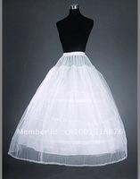 3 hoop one layer net Adjustable Wedding gown Crinoline, slip, petticoat-A