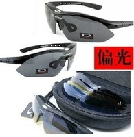 Bicycle outdoor automobile race goggles riding eyewear polarized sunglasses myopia