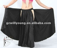 High Quality Sexy Satin Belly dance Wear New Gypsy Performance Belly Dance Costume Bohemia Skirt 12 Colors Avail