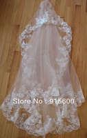 ivory Lace Wedding/Bridal Veil /3m (96X60in)