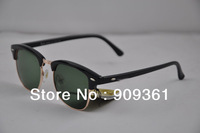 Retro sunglasses 3016 sunglasses, with the original packaging, men sunglasses, women's sunglasses, (48mm -proof glass lens)