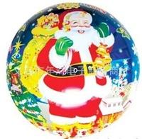 Free shipping 10pcs/lot  18 inch Santa Claus aluminium Foil Balloons for Christmas helium balloons