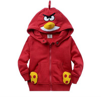 Free shipping EMS/DHL  hot sale kids cartoon coat,girl sport shirt winter warm outerwear hoodies,children cartoon design jacket