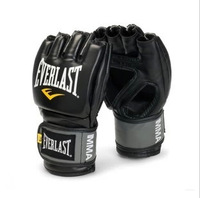 2013 everlast gloves MMA sanda boxing gloves half finger gloves sandbag gloves adult