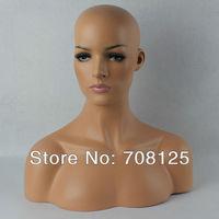 Female Realistic Mannequin Head Sale