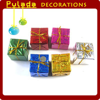Pulada Decorations (min,order $10)  Christmas gift christmas tree christmas bag 2.5cm 4cm 8cm