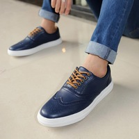 House new fall fashion tide leather shoes breathable men's casual Korean tidal shoes men's shoes British fashion L302