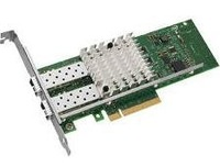 E10G42BFSR 10Gbps Dual port LC Fibre PCIe 8x Ethernet Server Adapter X520-SR2 chipset intel82599 , With SFP 1 year warranty