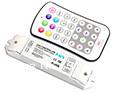M7 remote+receiver; mini led rgb controlador táctil; dc12-24v de entrada, 3a*3channel de salida