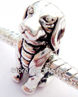 Top super quality 925 sterling silver Stopper bead w/ thread fit European Charm bracelet Dog PSB149