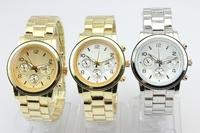 25pcs/lot high quality no rhinestone no date metal watch men women watch