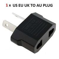 10Pcs/lot US/EU to AU AC Power Plug Travel Converter Adapter free shipping