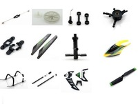 21pcs wltoys v912 RC helicopter spare parts kits,gears+blade +landing gear+fly bar+canopies for helicopter  wl toys v912
