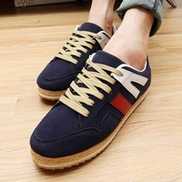 House new fall shoes tide shoes fashionable breathable men's casual Korean version of the British men's shoes 7308
