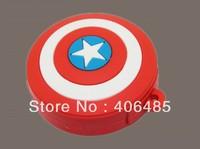 wholesale  20pcs/lot New Captain America Shield, U Disk 4GB 8GB 16GB 32GB 64GB USB Flash 2.0,